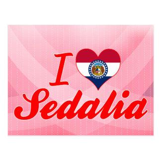 I Love Sedalia, Missouri Postcard