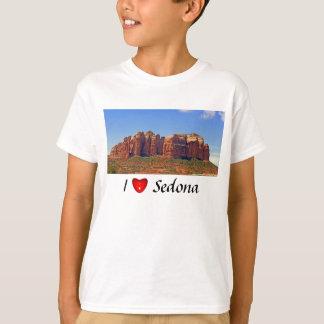 I Love Sedona Kid's Light Shirt