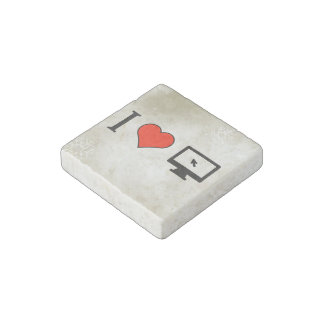 I Love Seeing Computer Cursors Stone Magnet