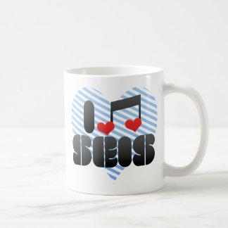 I Love Seis Mug