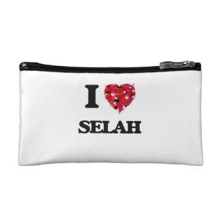 I Love Selah Cosmetic Bags