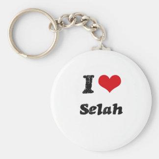 I Love Selah Key Chain