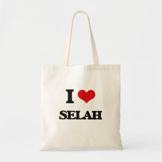 I Love Selah Budget Tote Bag