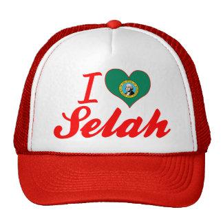 I Love Selah, Washington Trucker Hat