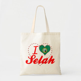 I Love Selah, Washington Canvas Bag