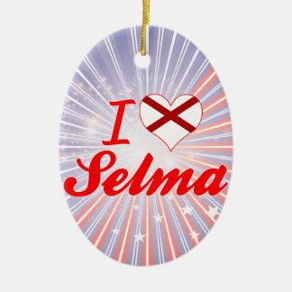 I Love Selma, Alabama Ornaments