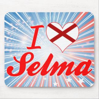 I Love Selma Alabama Mouse Pads