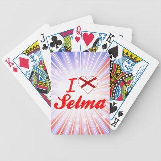 I Love Selma Alabama Bicycle Poker Deck
