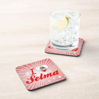 I Love Selma California Coaster