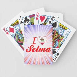 I Love Selma California Deck Of Cards