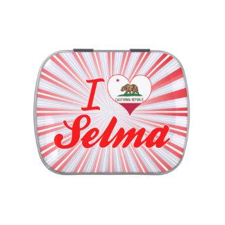 I Love Selma, California Candy Tins