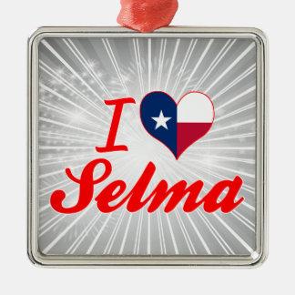 I Love Selma, Texas Christmas Tree Ornament