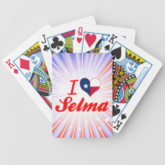 I Love Selma Texas Bicycle Card Deck