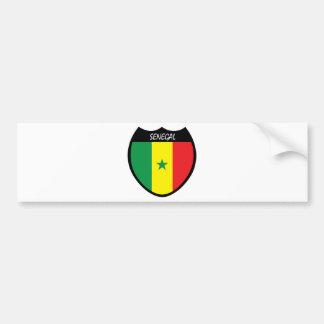 I Love Senegal Bumper Sticker