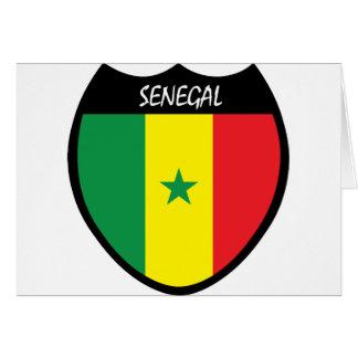 I Love Senegal Card