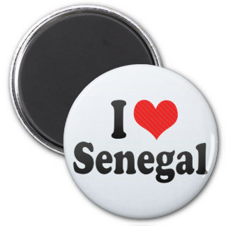I Love Senegal Magnet