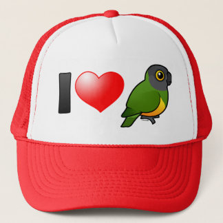 I Love Senegal Parrots Cap