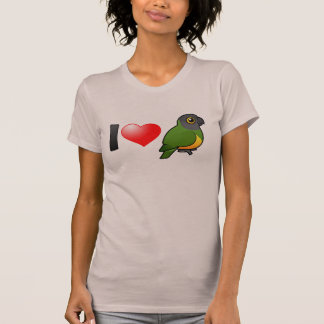 I Love Senegal Parrots T-Shirt