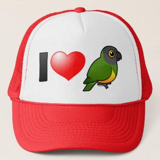 I Love Senegal Parrots Trucker Hat