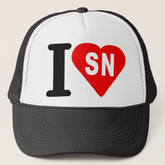 i_love_Senegal.png Trucker Hat