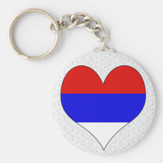 I Love Serbia Key Ring