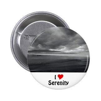 I Love Serenity 6 Cm Round Badge