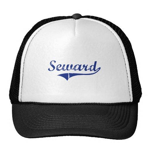 I Love Seward Alaska Mesh Hat