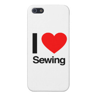 i love sewing iPhone 5/5S cover