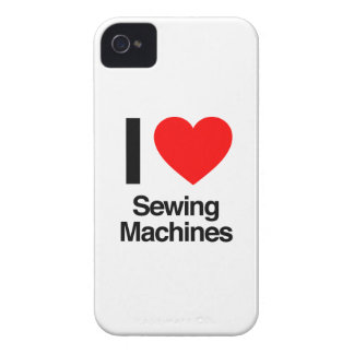 i love sewing machines iPhone 4 cover