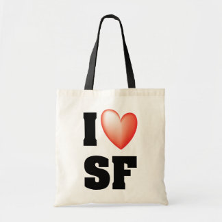 I Love SF Bag