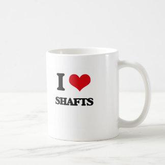 I Love Shafts Basic White Mug