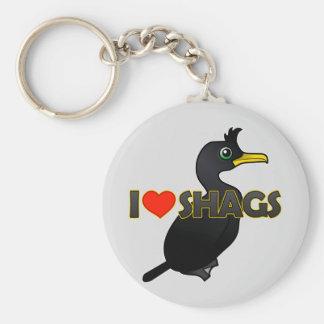 I Love Shags Key Chains