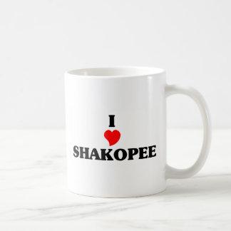 I love Shakopee Basic White Mug