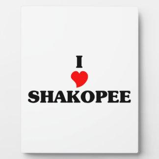 I love Shakopee Display Plaques