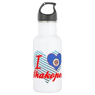 I Love Shakopee, Minnesota 532 Ml Water Bottle