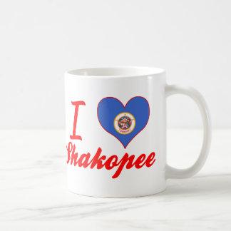I Love Shakopee, Minnesota Basic White Mug
