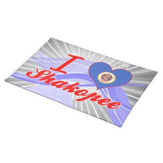 I Love Shakopee, Minnesota Placemat