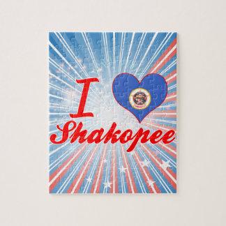 I Love Shakopee, Minnesota Jigsaw Puzzle