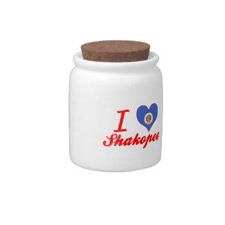 I Love Shakopee, Minnesota Candy Dish