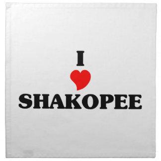 I love Shakopee Napkins