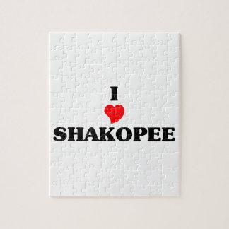 I love Shakopee Puzzle
