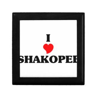 I love Shakopee Small Square Gift Box