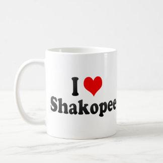 I Love Shakopee, United States Basic White Mug