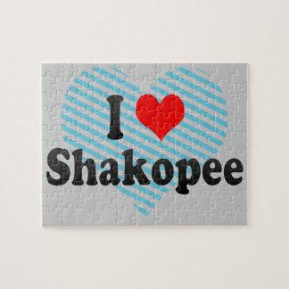 I Love Shakopee, United States Puzzle