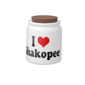 I Love Shakopee, United States Candy Jars