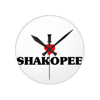 I love Shakopee Wallclocks