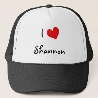 I Love Shannon Trucker Hat