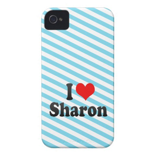 I love Sharon Case-Mate iPhone 4 Case