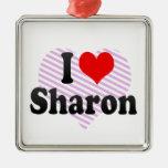 I love Sharon Christmas Tree Ornament