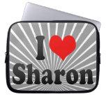 I love Sharon Laptop Computer Sleeves
